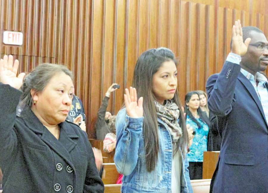Naturalization ceremony yields 46 new Americans