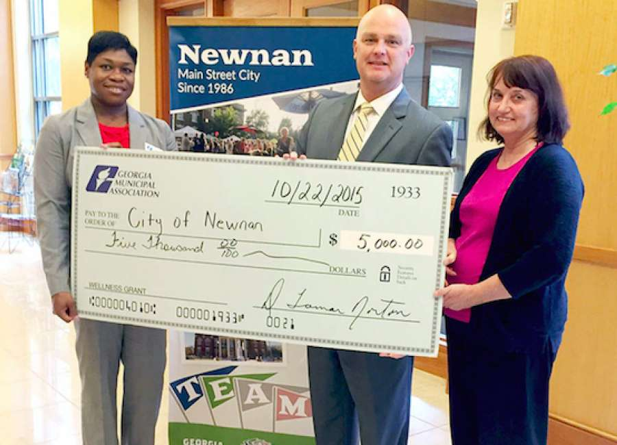 Newnan receives health grant