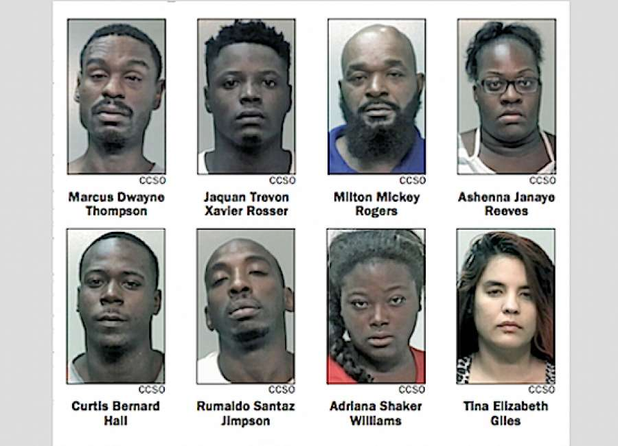 10 arrested in drug, prostitution stings