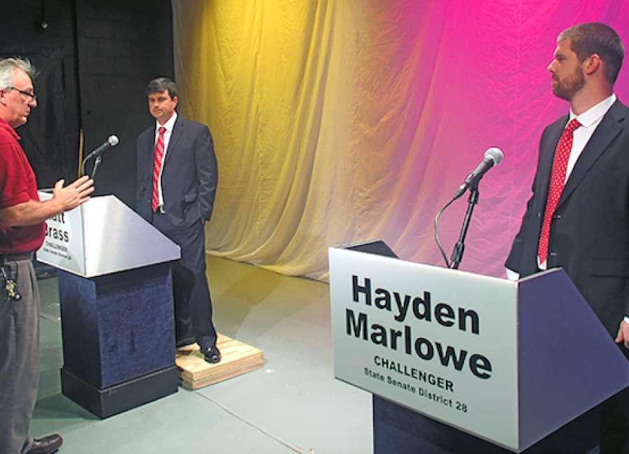 Brass, Marlowe seek open state senate seat