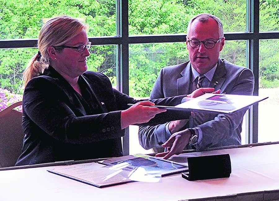 Cagle kicks off German-style apprenticeship program