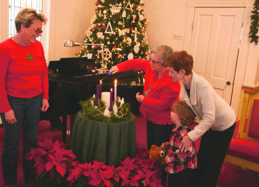 2020 Christmas Eve Service At Senoia United Methodist Church Churches ready to welcome visitors on Christmas Eve   The Newnan