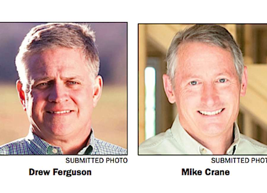 Crane, Ferguson spar over campaign ads