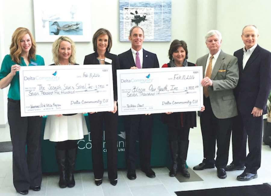 Delta Community Credit Union donates to GA foster children