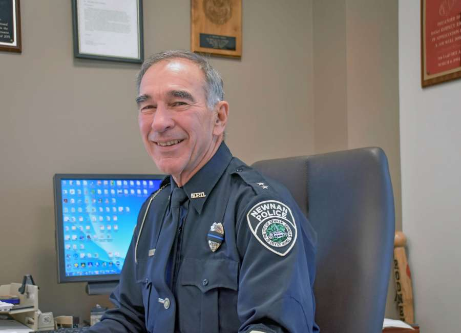 Deputy Chief Rodney Riggs Set To Retire After 41 Years At The Newnan Police Department The Newnan Times Herald