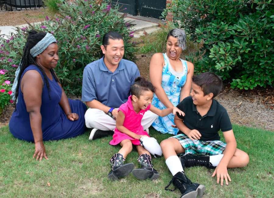 Garrigus family finds art, acceptance in Coweta