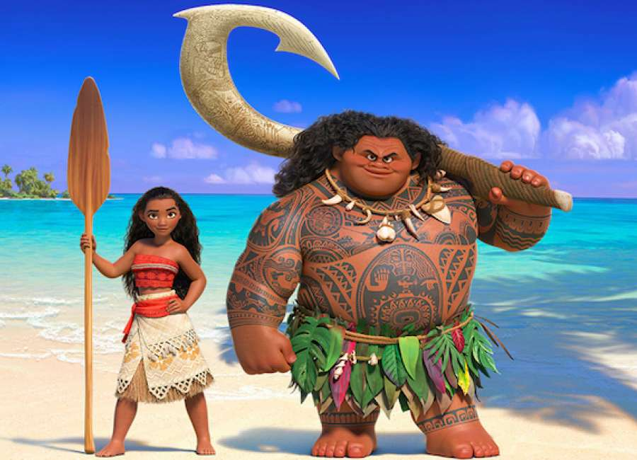 Set sail with the spirited, familiar 'Moana'