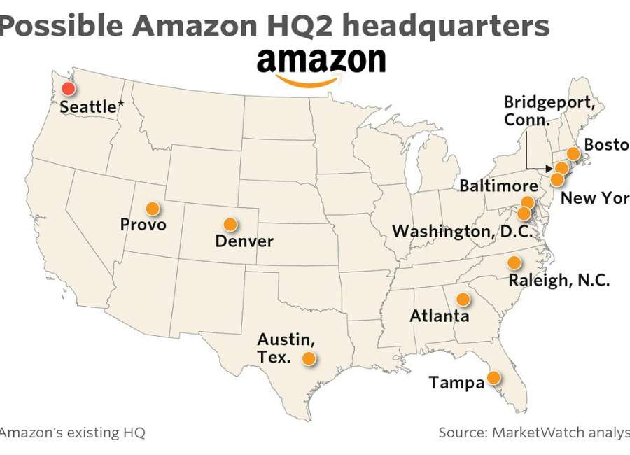 Amazon's HQ2 could positively impact Coweta