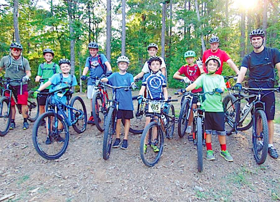 Coweta Composite bike team hits the trails