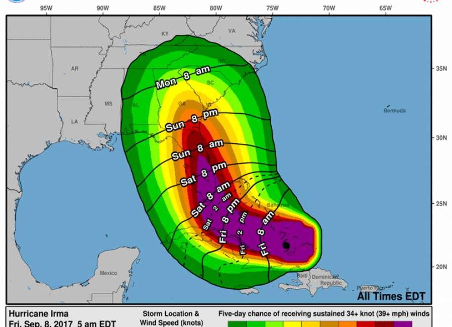 Irma no big threat to Coweta