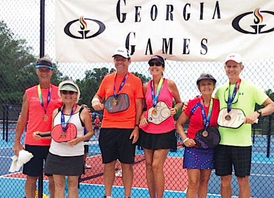 Locals bring home pickleball medals at Georgia State Games