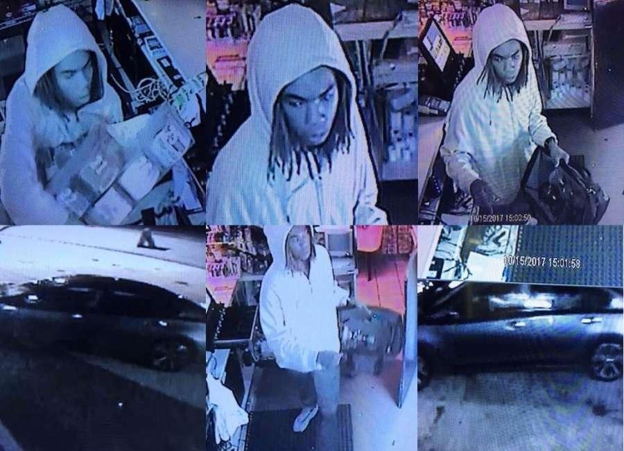 Smash-and-grab burglar hits local gas station