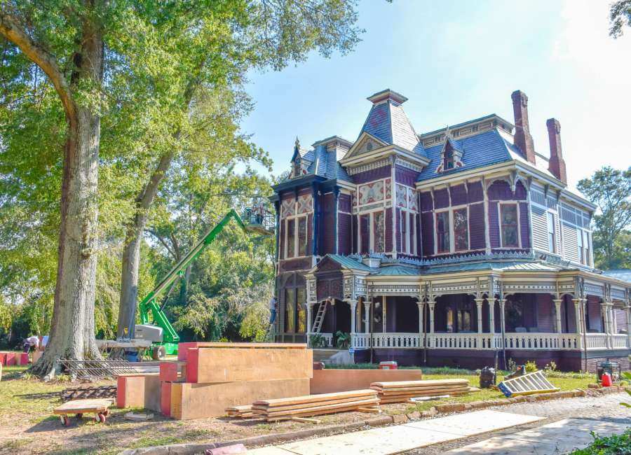 Two sites prepare to film in/near downtown Newnan soon