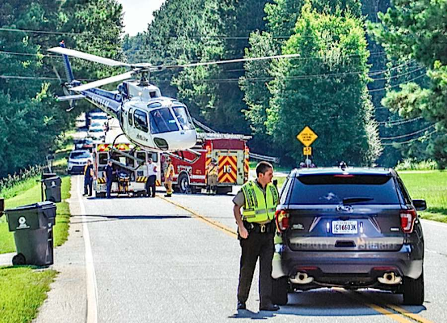 Woman airlifted after two-car wreck shuts down West Hwy. 34
