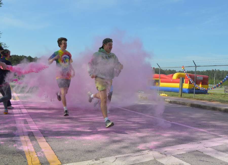 Abby's Angels Foundation holds annual Rainbow Run