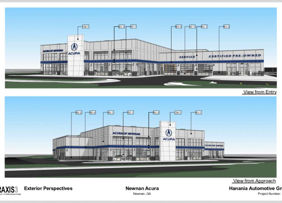 Acura dealership coming to Newnan