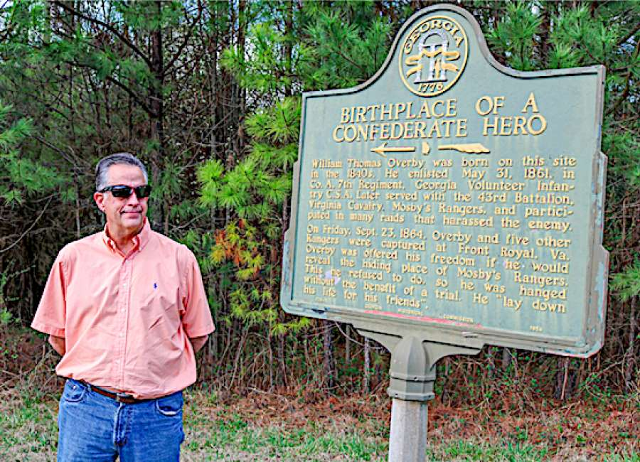 Christie wants archaeologist to check out old Overby plantation site