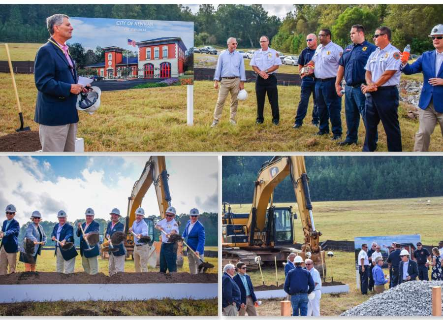 City breaks ground on Fire Station 4