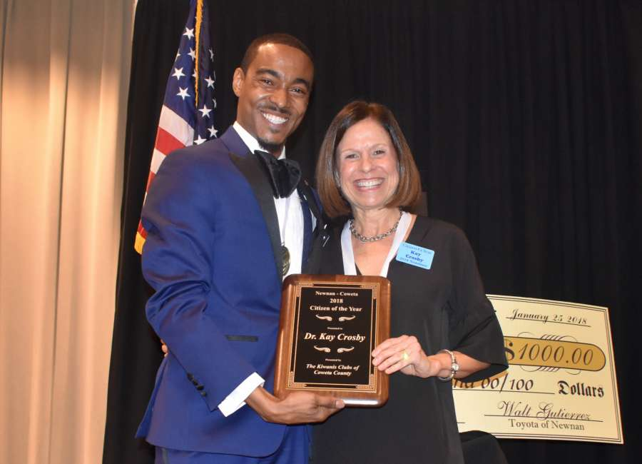 Dr. Crosby named Citizen of the Year