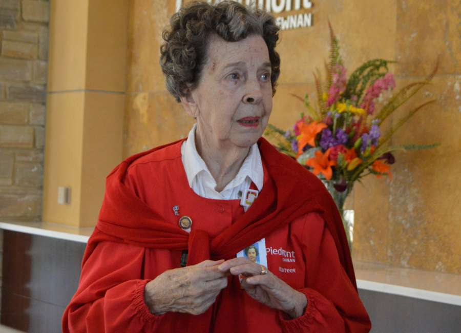 Hospital volunteer serves patients, families for nearly 40 years