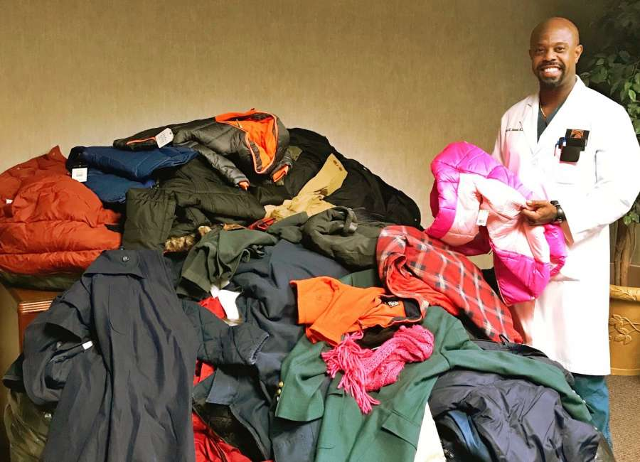 Local orthopedic clinic collecting coats for those in need