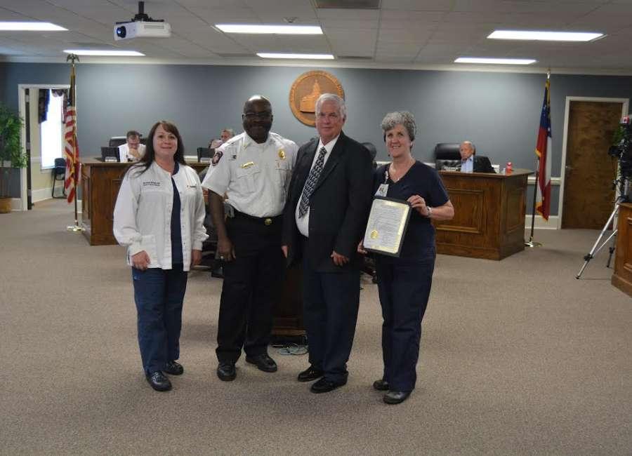 Mayor, commissioners proclaim stroke awareness month