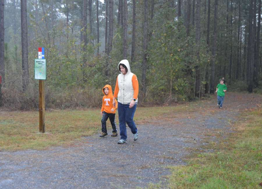 New trails open at Brown's Mill park