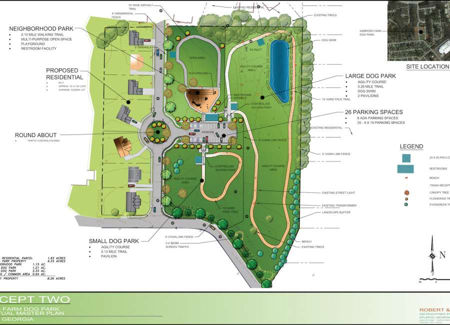 Newnan ready for dog park, LINC project