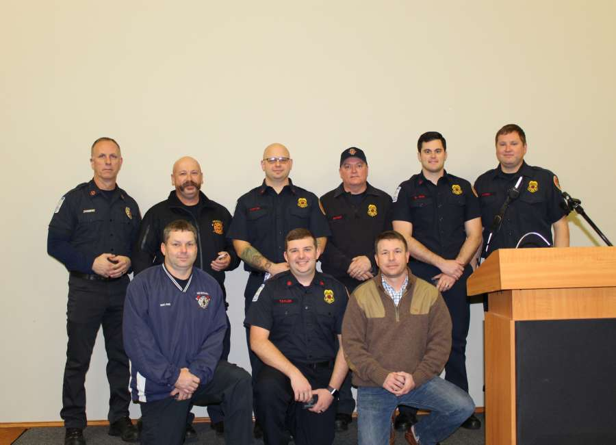 NFD firefighters honored for hard work