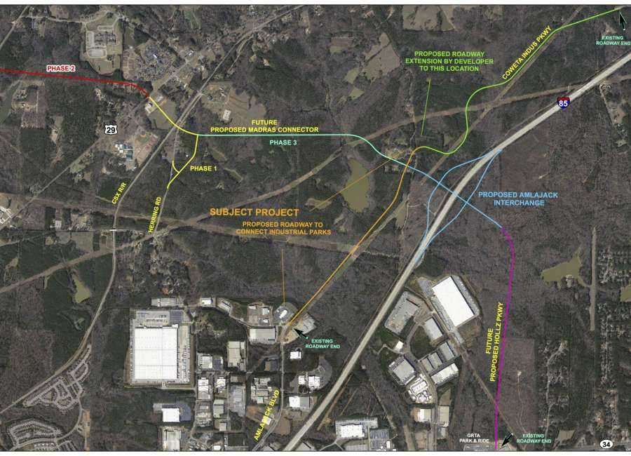 Phase II of Madras Connector shelved