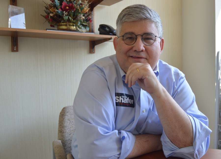 Shafer's campaign focuses on 'past accomplishments'