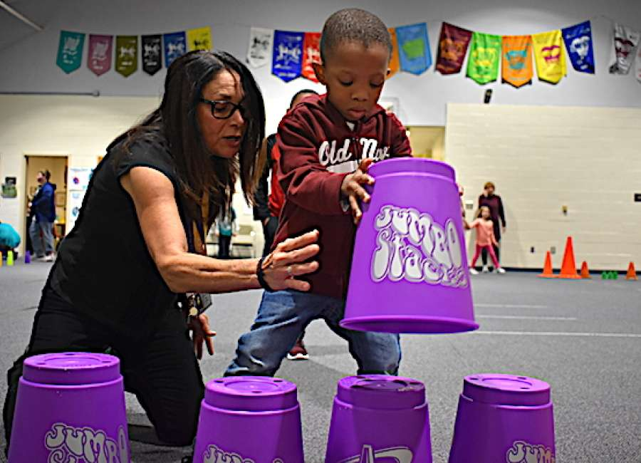Western Elementary students attempt world record