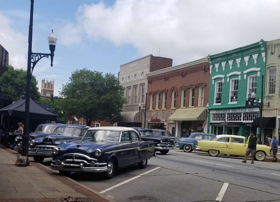 1950s return to Greenville Street