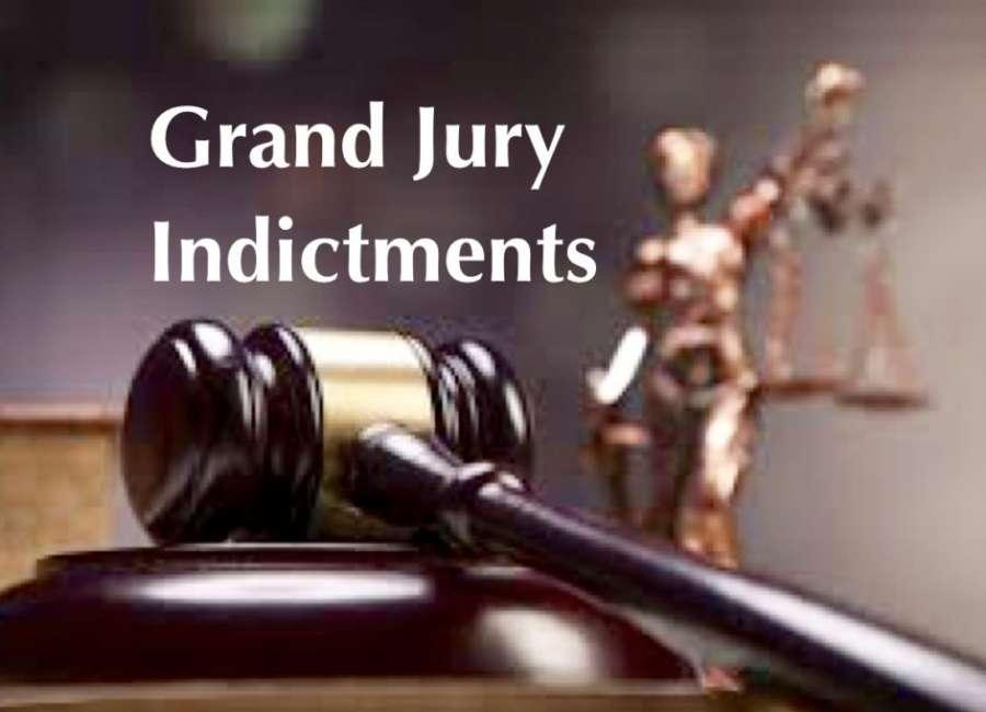 April indictments