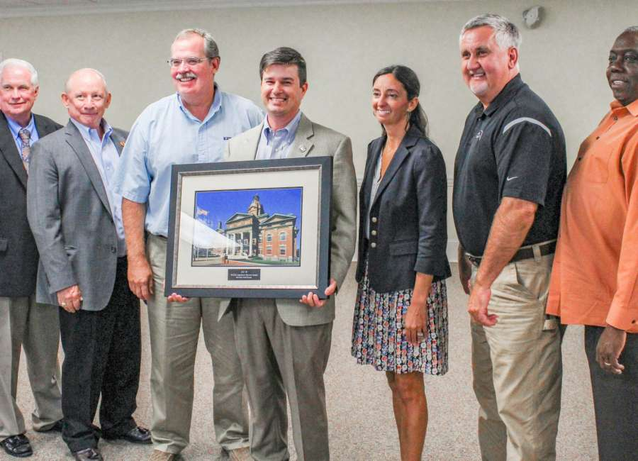 Brass honored by Association of County Commissioners of Georgia