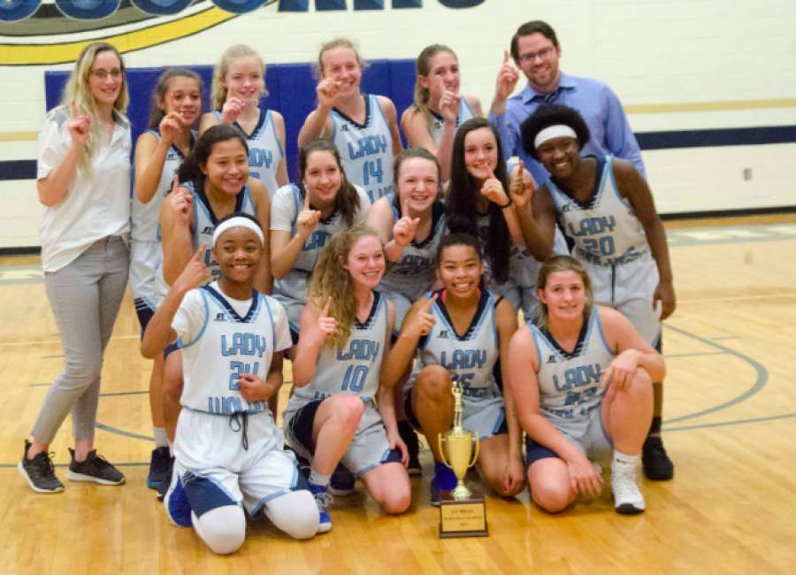 CCMSAL GIRLS BASKETBALL CHAMPIONSHIP: Lee girls close out undefeated season with win over Arnall