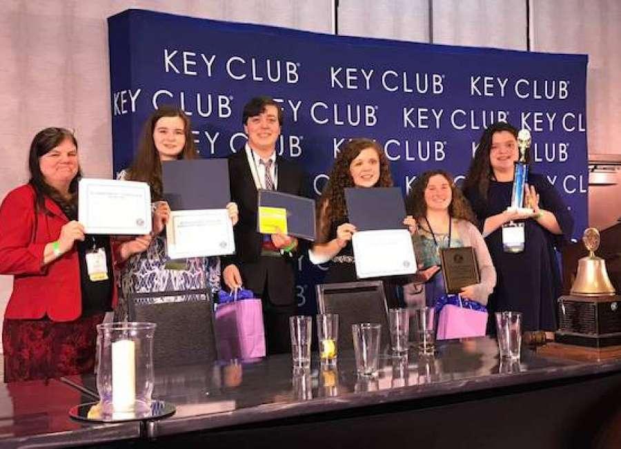 Central Christian Key Club wins district awards