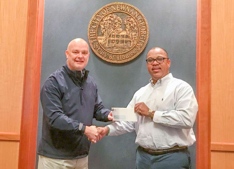 City of Newnan awarded GMA safety and liability management grant