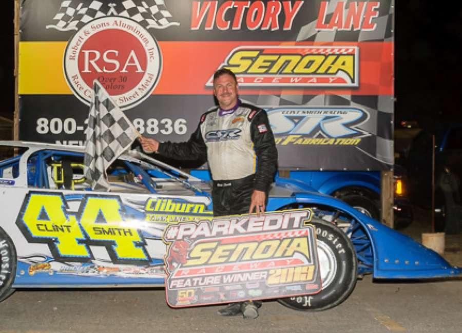 Clint Smith wins 60th race on Senoia's dirt track