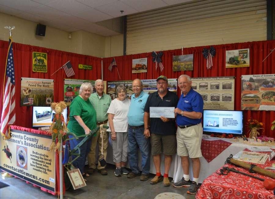 Community booths win big at Coweta County Fair