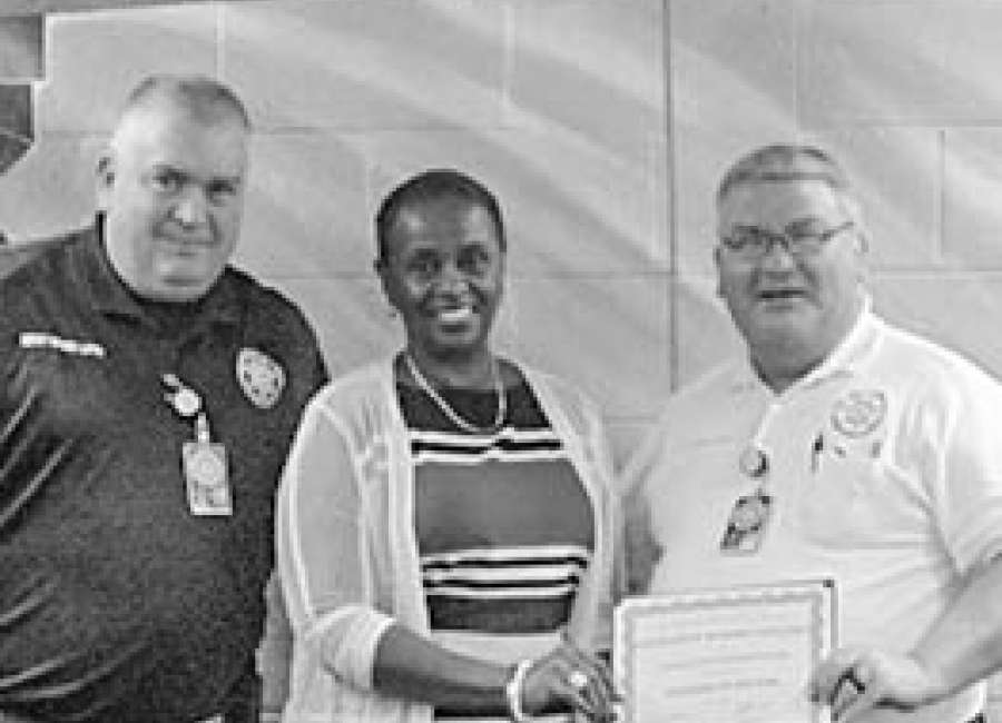 Corrections Department honored for Academic Excellence