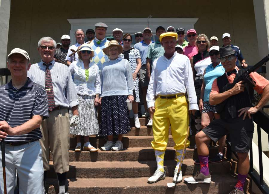 Country Club golfers celebrate a century