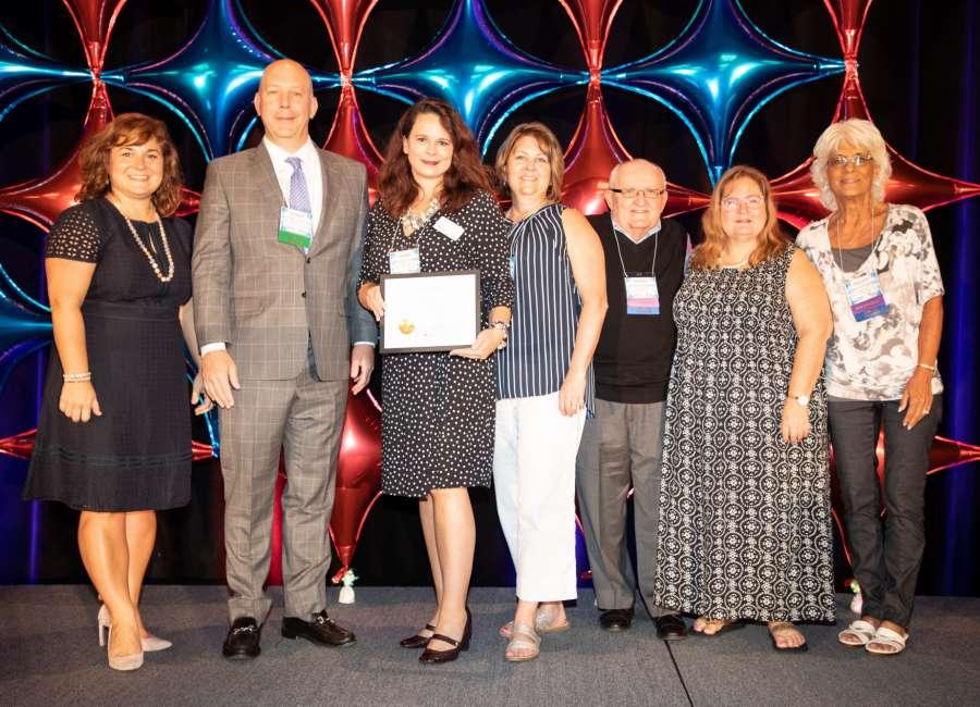 Coweta CASA gets state award