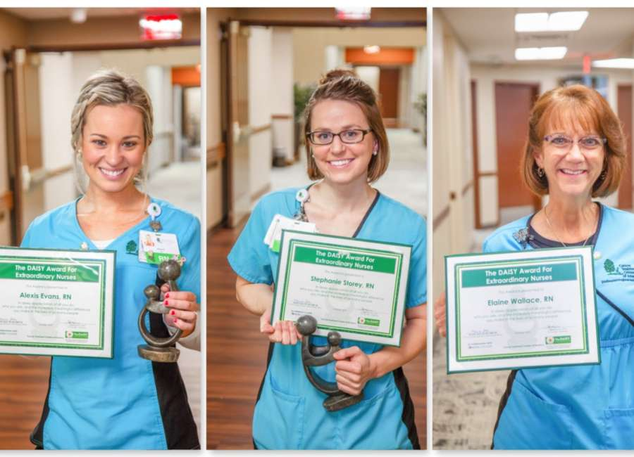 CTCA nurses receive prestigious DAISY Award
