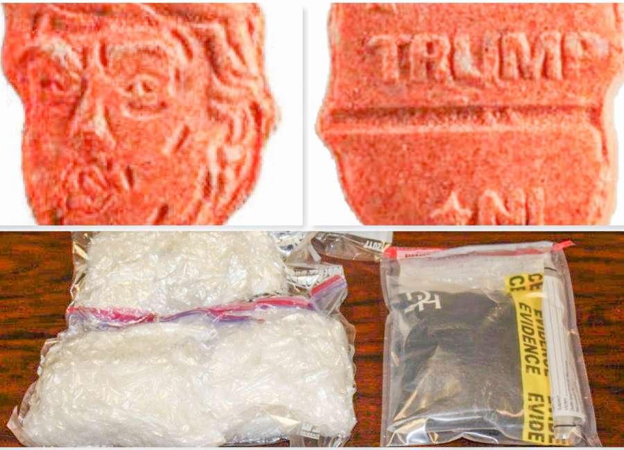Deputy makes 'yuge' drug bust