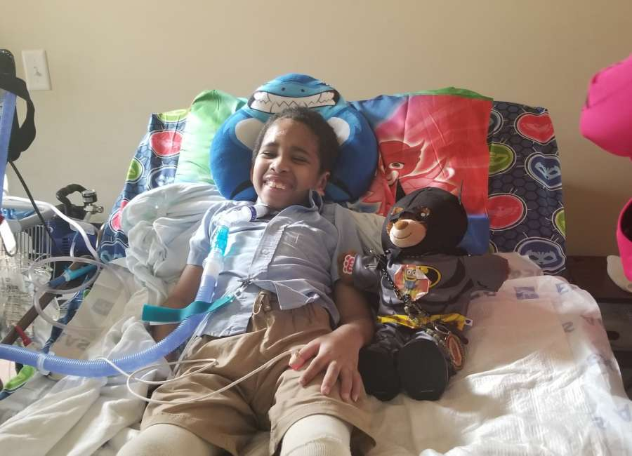 Family looking to future as 8-year-old returns home after accident