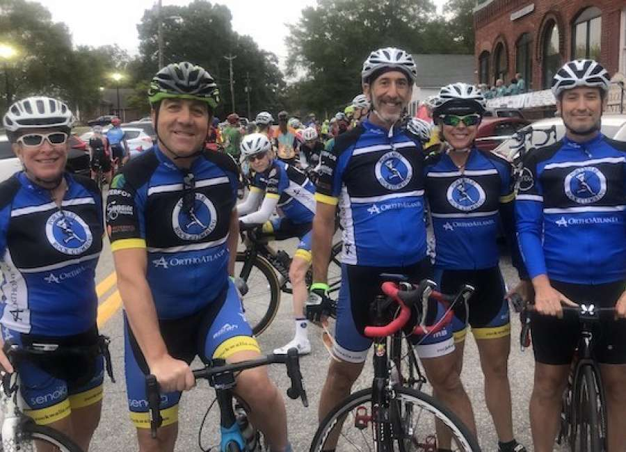 Ferst Foundation raises $40,000 at annual bike ride