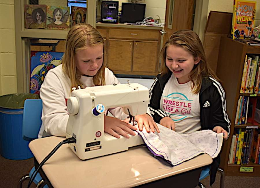 Fifth-graders' project helps autistic students