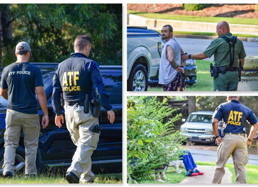 Four arrested after ATF raid of Newnan home