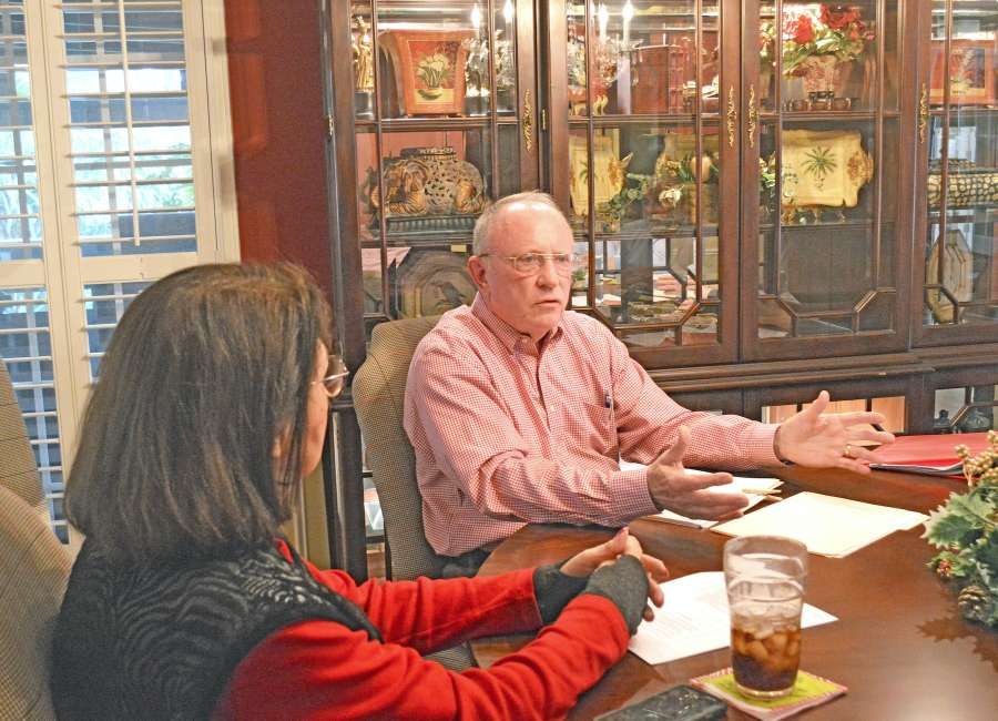 Group taking senior tax proposal directly to legislators